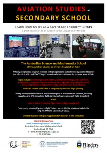 Aviation School - ASMS at Flinders Uni