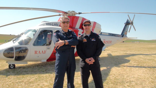 RAAF Rescue Helicopter